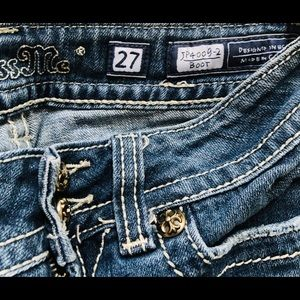Miss Me Jeans - Miss Me Boot Cut Jeans Size 27